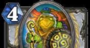 牧师普通单卡持盾者 代替暮光守护龙的存在