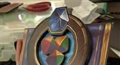 国外大神制作3D卡牌 俨然炉石传说播音机器