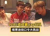 1246或成最gay战队 维寒迪绕口令大挑战