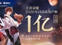 王者荣耀日活跃用户日均1亿,中国自研创造全球历史