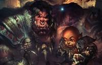 魔兽新人绘画:兽人萨和地狱咆哮父子情深