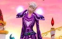 布甲幻化:紫色风格的长袍造型风格幻化