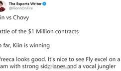 外媒:kiin在与Chovy的百万合同战中获胜