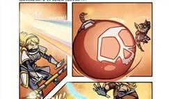 英雄联盟LOL每日一笑漫画 亚索死活不点灯
