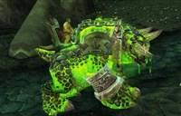军团绿风格:魔兽7.0绿色版双头地狱犬坐骑
