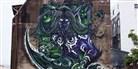 伊利丹在台湾街头史诗般壁画