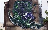 7.0宣传:伊利丹在台湾街头的史诗般壁画