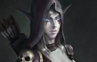 魔兽玩家绘画:心目中温柔版的希尔瓦娜斯