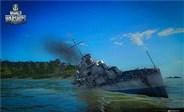 战舰世界精彩战斗视频 日系岛风开局怒秒天城