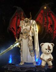 暗黑破坏神3玩家幻化展示 光与黑暗双圣教