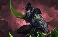 魔兽玩家绘画原创:伊利丹 接受我的愤怒吧