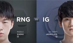 备受瞩目!RNG和iG世纪大战霸榜微博热搜