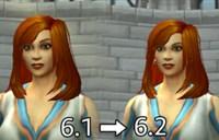 魔兽世界6.2人类暗夜模型更新:细节处调整