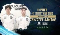 iG官宣:Puff与Southwind转会至iG战队