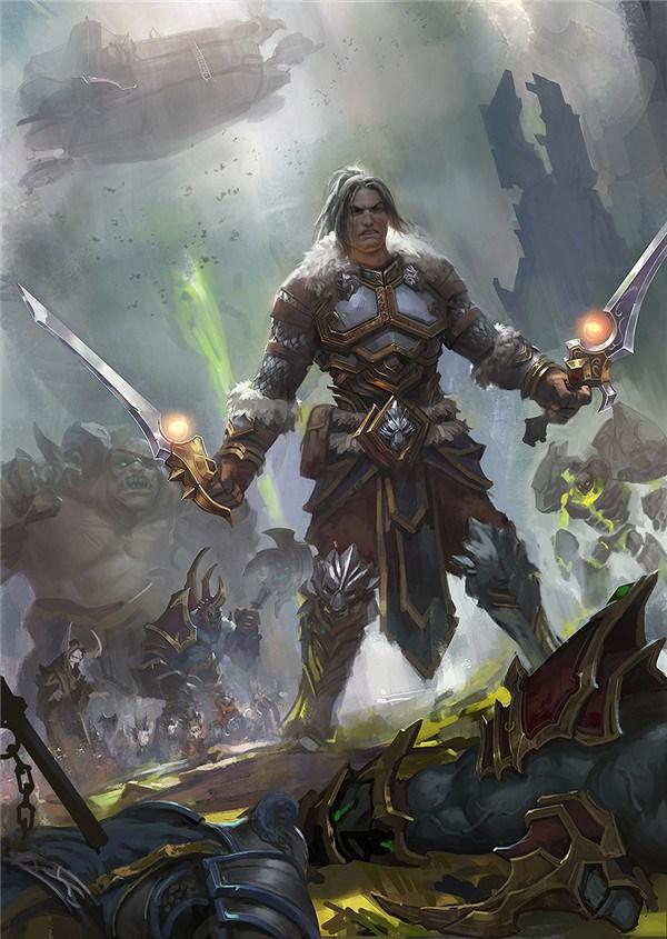 纪念那些逝去的魔兽英雄 瓦里安·乌瑞恩