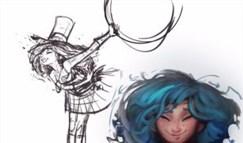设计师谈新英雄佐伊:曾经是金克丝的妹妹?