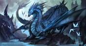 炉石传说中颇有背景的卡牌 蓝龙王玛里苟斯