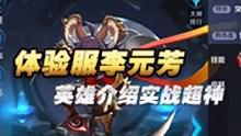 王者荣耀李元芳第一视角 李元芳介绍及实战