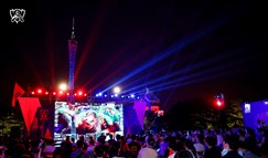 全球总决赛落幕 全国地标观赛引爆电竞激情