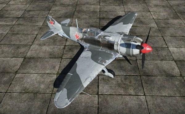战争雷霆中苏联的飞机苏系拉-7战斗机是一款优秀的战斗轰炸机,拉-7属于中低空战斗机,在同等级战斗机中中低空加速性能和速度都有所领先,爬升率尚可。而且拉-7是拉沃契金系列中最后一台使用20毫米施瓦克机炮的战斗机,只装备了两门,相较于它的分房权重来说火力偏弱,在街机模式中很难有优秀的表现。速度过快时操控性会严重下降,因此不宜过度俯冲,同时还可以依靠突出的平飞速度来保存自己。 总体而言性能全面,是一款值得入手的优秀飞机。    苏联拉-7战斗机   基本属性完全属性   最大速度:645千米/小时   最大