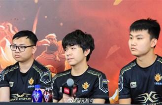 SS赛后群访 Guoguo:我们重庆主场最好!