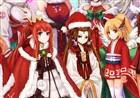 DNF同人美图欣赏 萝莉们的圣诞装真是极好的