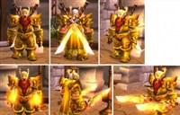 板甲幻化:土豪值得拥有的黄金套造型