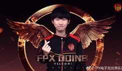FPX官宣:原RW战队中单Doinb正式加盟