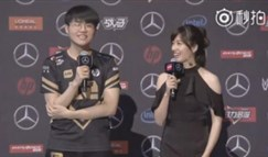 RNG北京主场美女主持薇薇:曾经主持过LDL