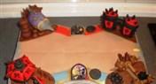 玩家制作炉石传说棋盘场景主题蛋糕 你会舍得吃吗
