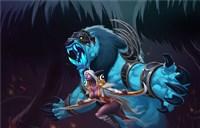 魔兽玩家原创画作:暗夜精灵猎手和守护小德