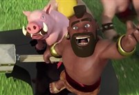 【皇室战争】踩着风火轮的猪 A5A6熔炉猪推荐