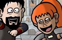 搞笑漫画:组满猎人和吃坏肚子有啥区别?