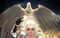 魔兽玩家绘画:美美的高洁血精灵牧师妹子