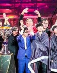 S9决赛夺冠返图:恭喜FPX战胜G2夺得冠军