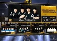 PSS第二季B组排行:Gen.G BLACK第1XQ第17