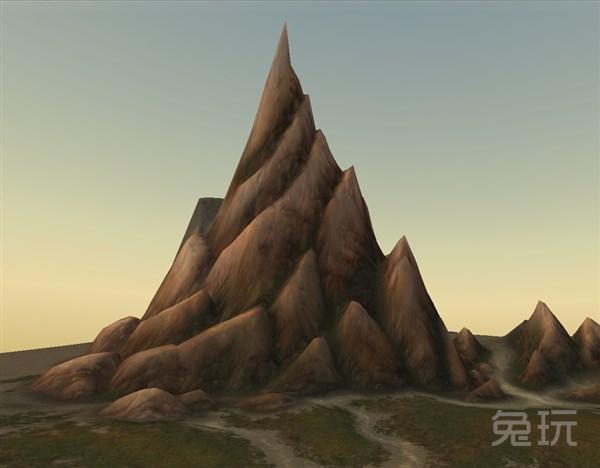 游戏手绘岩石材质素材