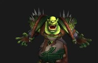 魔兽世界德拉诺之王兽人新模型动画表情