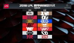 LPL夏季赛分组出炉 6月11日正式开战!
