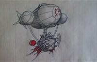 脑洞大开-玩家手绘:壮志凌云!空军司令!
