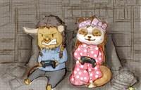 魔兽两个宅一起:男牛头和女熊猫战了一晚