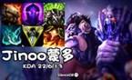 大神怎么玩:Jinoo上单蒙多 8.10版本热门