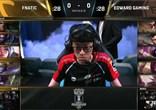 让一追三 Fnatic击败EDG进入全球总决赛四强