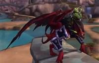 魔兽7.0坐骑:帅气的恶魔蝙蝠骑乘预览
