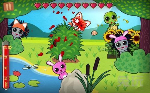 """可爱的小动物,这款游戏当初因""""超写实暴力""""的画面直接遭到苹果的封杀"""