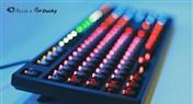 Akko X Ducky One 7-11限定版混灯混轴机械键盘