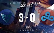 2016全球总决赛10月14日 SSG vs C9第三场录像