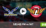 2017季中冠军赛小组赛5月14日 FWvsSKT录像