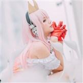 粉色天使!