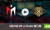 2017LPL夏季赛赛6月24日 IMvsSnake第二局录像